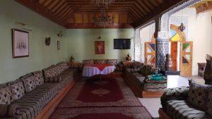 Kasbat Aferdou : Salon marocain