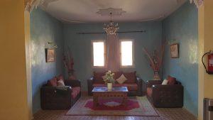 Kasbat Aferdou : Salle de séjour