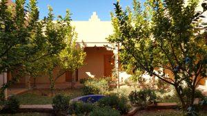 Kasbat Aferdou :Jardin Patio Chambre