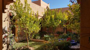 Kasbat Aferdou :Jardin Patio