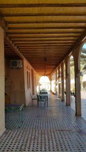 Kasbat Aferdou : Terrasse